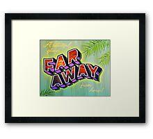 """""""Far Away"""" Framed Print"""