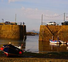 Mousehole Harbour, Cornwall England by Paulant