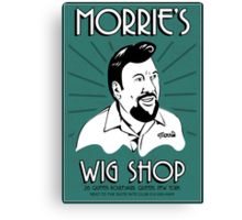 Goodfellas, Morrie's Wigs Shop Sign T-shirt  Canvas Print