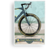 Tour Down Under Bike Race Metal Print