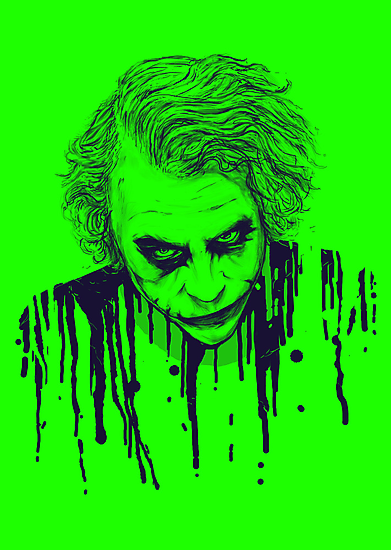 The Joker by nicebleed