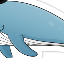 Sir whale Sticker