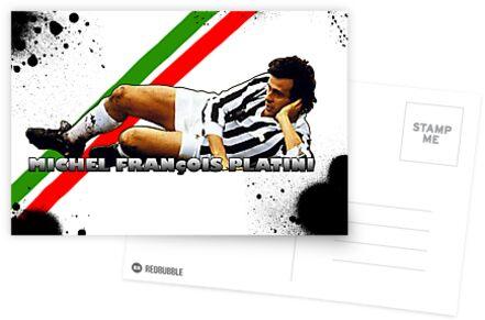 Platini Postcard