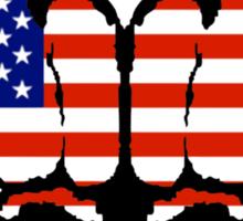 US Fists Sticker