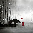 little red riding hood ~ be my valentine by minoule
