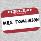 Mrs. Tomlinson by angelx64