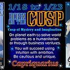 Born on the Cusp Capricorn Aquarius by Valxart