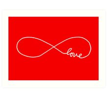 Infinite Love Art Print