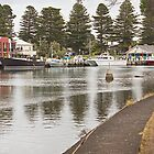 The harbour at Port Fairy #1 by Roger Neal