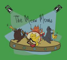 The Meow Meows - colourised version by Elvedee