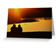 The Warmth of Friendship Greeting Card