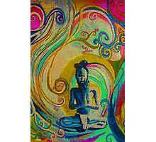 """Blue Yogi 1"" Photographic Print"