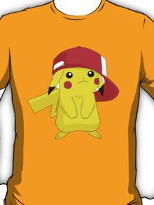 Pikachu Pokemon Ash's Hat T-Shirt