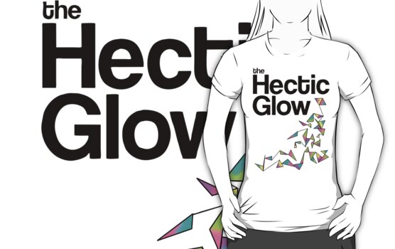 The Hectic Glow - John Green T-Shirt [Colour] by Jessica E Pattison