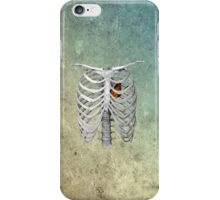 I am empty, I am skin and bones, I'm a ribcage iPhone Case/Skin