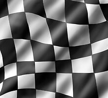 Chequered Flag by Sam Evans