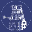 Doctor Who - DALEK - Circle T-shirt by fanboydesigns