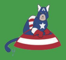 Cat-Ptain America by FrostyAntler