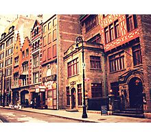 A Step Back in Time - New York City Photographic Print
