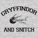 Gryffindor and Snitch by stevebluey