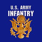 US Infantry Insignia  - iPad Case by Buckwhite