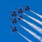 The Blue Angels In Formation Ipad Cover by Jim Haley