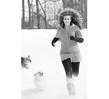 Snow Tag ~ Photographic Print