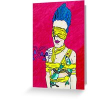 Fishing Bowie Greeting Card