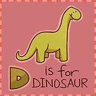 D is for Dinosaur by CodiBear8383
