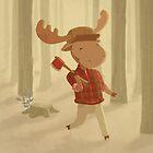 Lumberjack Moose by CodiBear8383
