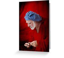Renaissance Music Man Greeting Card