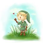 Legend of Zelda: Link by CodiBear8383