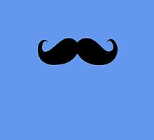 Funny Black Mustache 11 by Nhan Ngo
