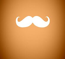 Funny white mustache 1 by Nhan Ngo