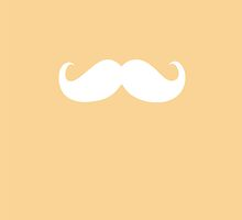 Funny white mustache 3 by Nhan Ngo
