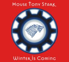 House Tony Stark - Winter is Coming by Elvenmagic