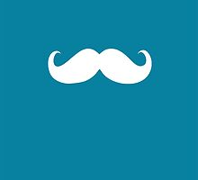 Funny white mustache 11 by Nhan Ngo