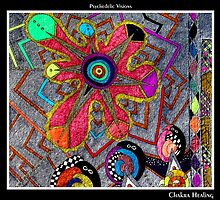 Chakra Healing Black Ligth by MonicaDias