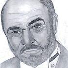 Sean Connery 3 by Bobby Dar