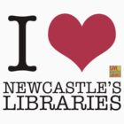 I Love Newcastle Libraries by StevePaulMyers