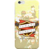 Humans Vs Zombies // Royal Holloway iPhone Case/Skin