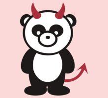 Panda Devil Kids Clothes