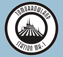 Space Mountain Tomorrowland Station MK-1 by AngrySaint