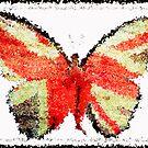 Lady Butterfly by Monjii