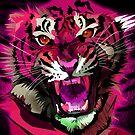Tiger Roar (Pink) by Adamzworld