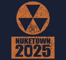 CALL OF DUTY BLACK OPS 2 - NUKE TOWN 2025 - DISTRESSED LOOK by Republica