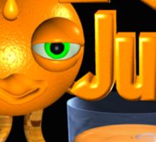 I love Juice Orange from Valxart.com  Sticker