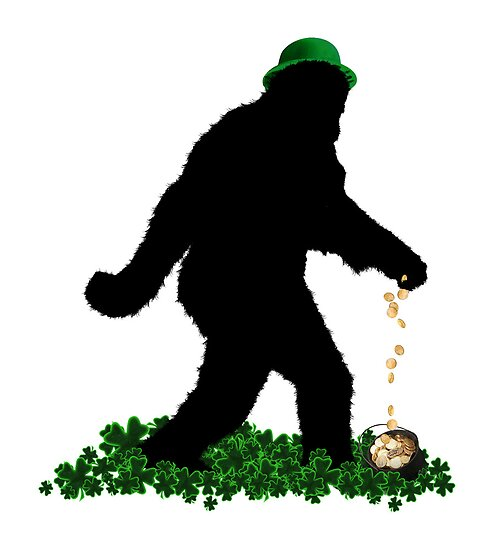 Lucky Sasquatch by Gravityx9
