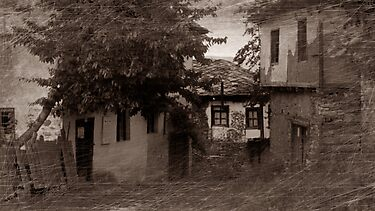 Ruralscape in sepia by Stefan Kutsarov