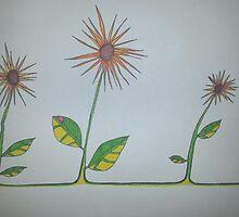 Dizzy dandelions by Dwstreetgear